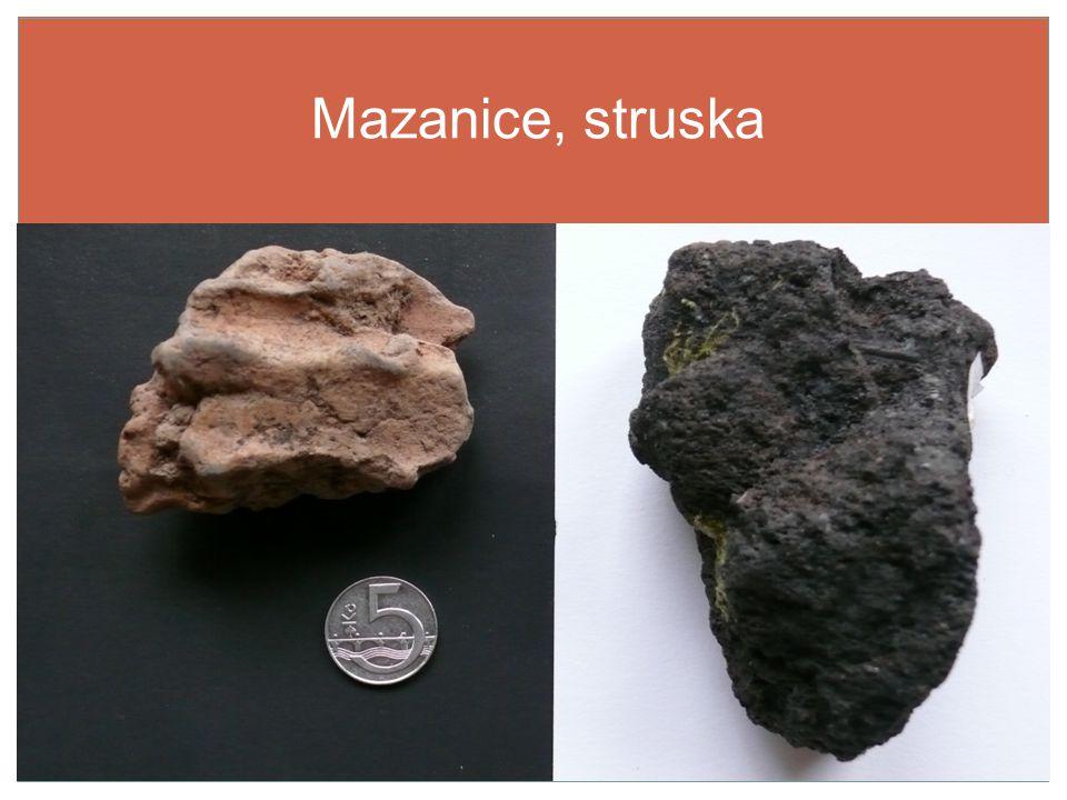 Mazanice, struska