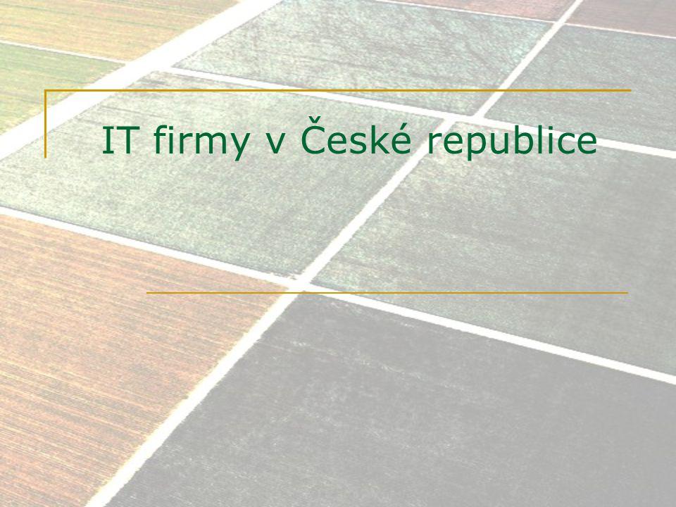 IT firmy v České republice