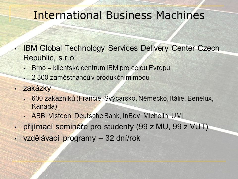 International Business Machines