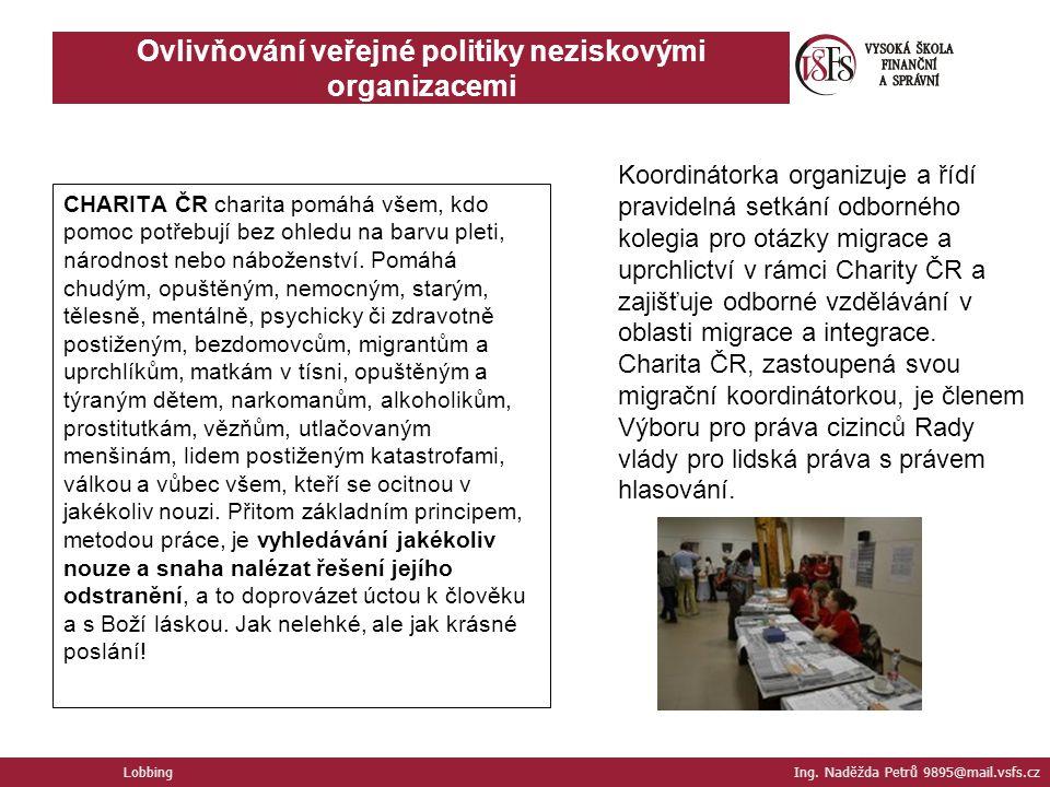 Ovlivňování veřejné politiky neziskovými organizacemi