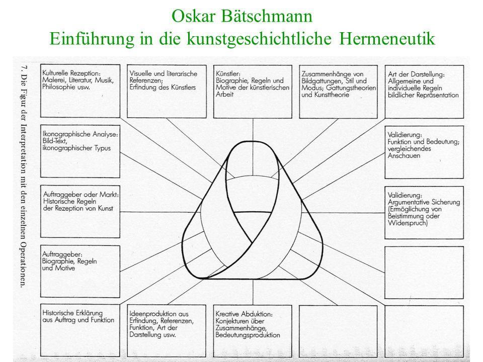 Oskar Bätschmann Einführung in die kunstgeschichtliche Hermeneutik