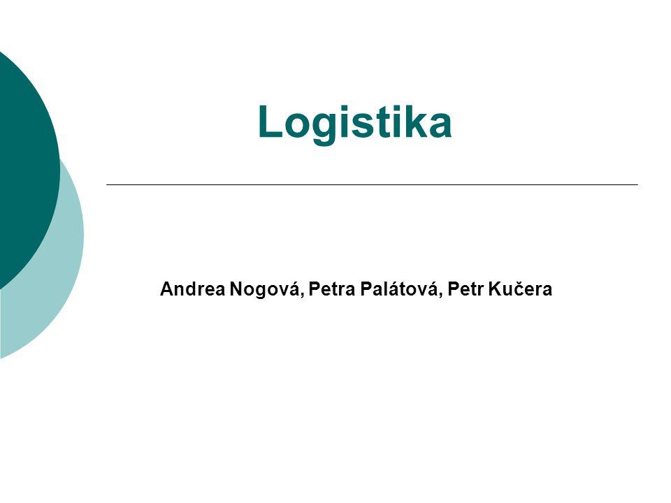 Andrea Nogová, Petra Palátová, Petr Kučera