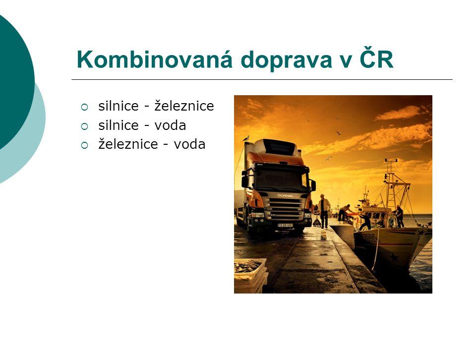 Kombinovaná doprava v ČR