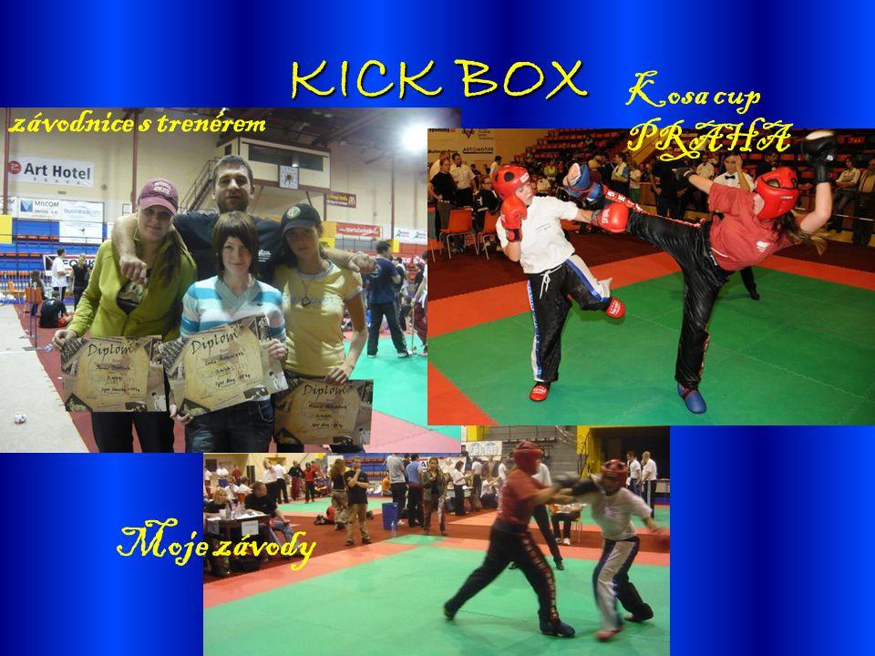 KICK BOX Kosa cup PRAHA závodnice s trenérem Moje závody