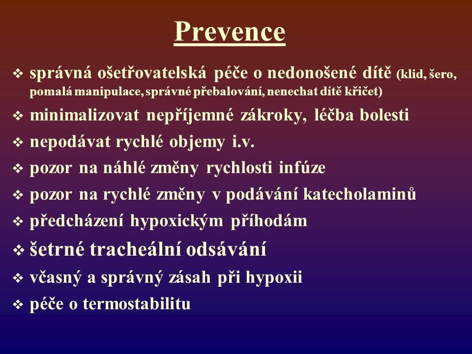 Prevence šetrné tracheální odsávání