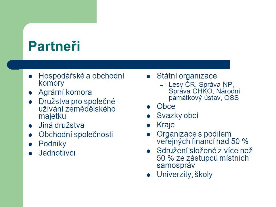 Partneři Hospodářské a obchodní komory Agrární komora