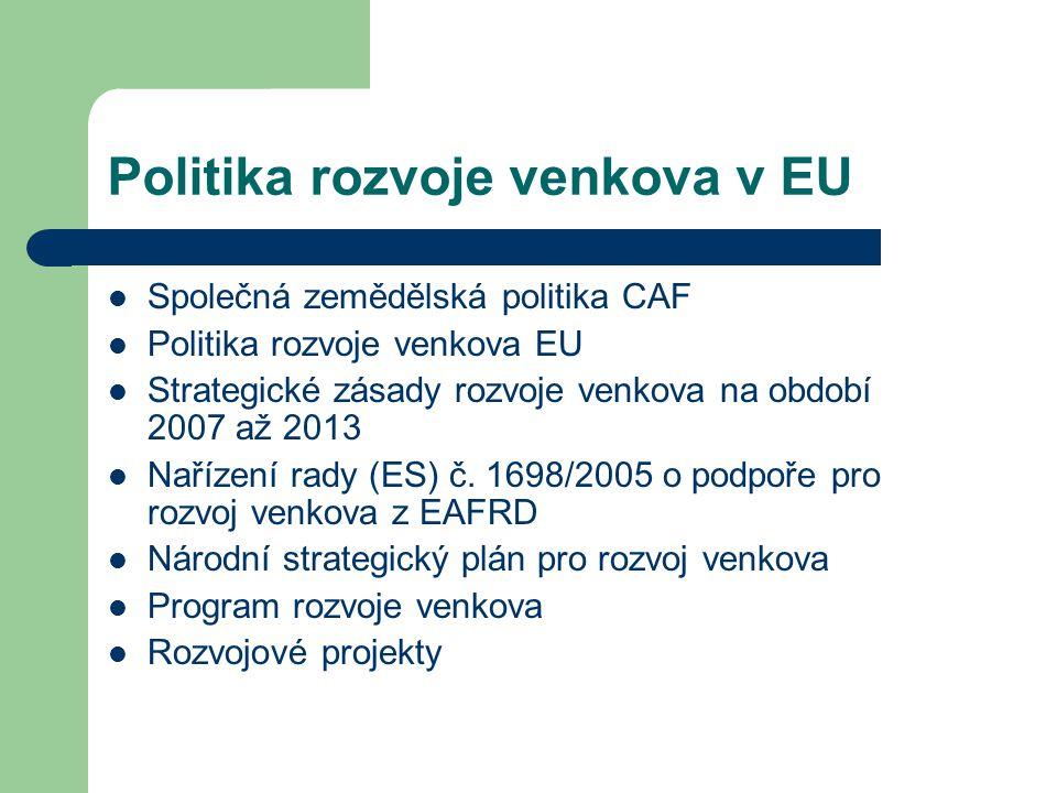 Politika rozvoje venkova v EU