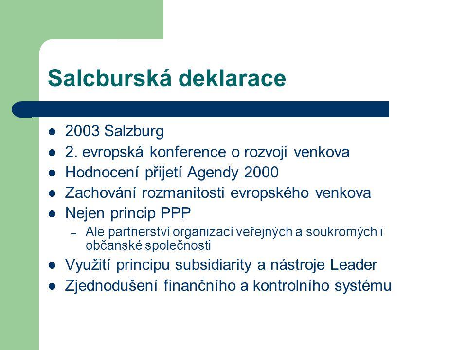 Salcburská deklarace 2003 Salzburg