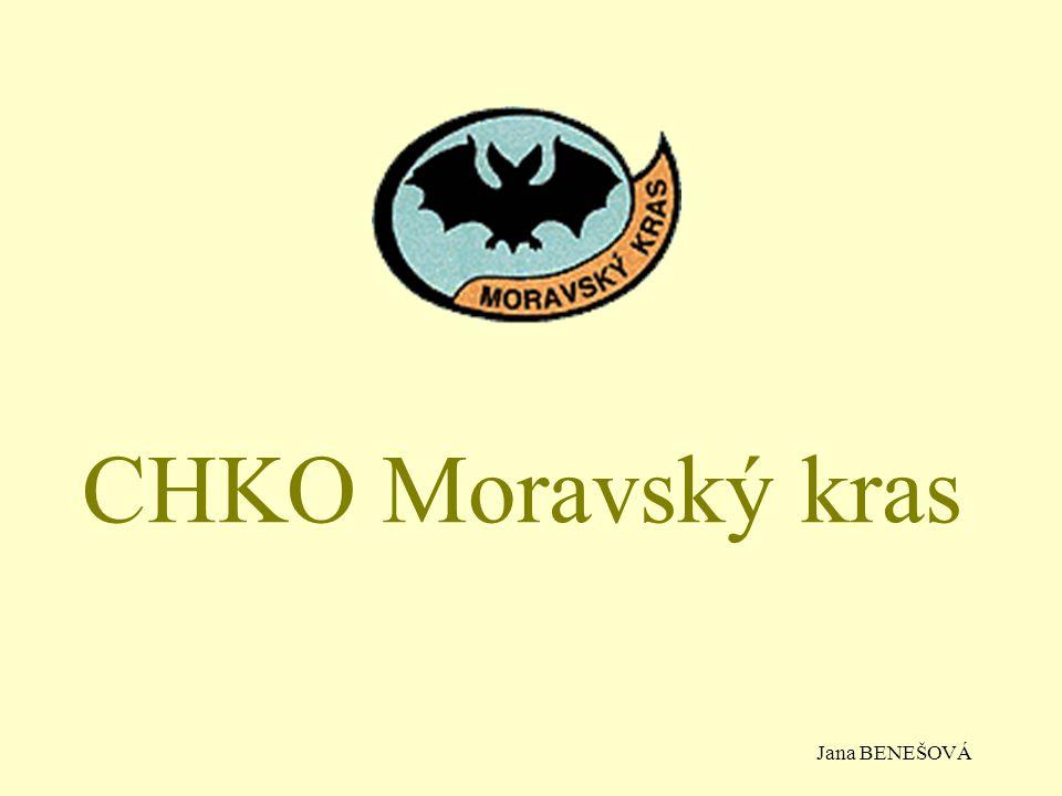 CHKO Moravský kras Jana BENEŠOVÁ