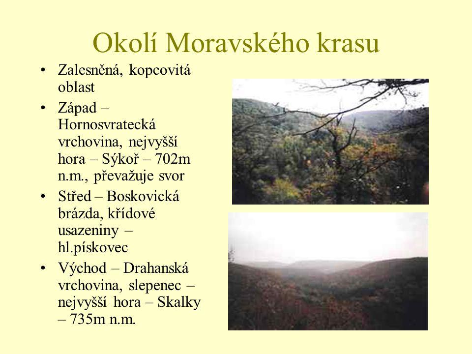Okolí Moravského krasu