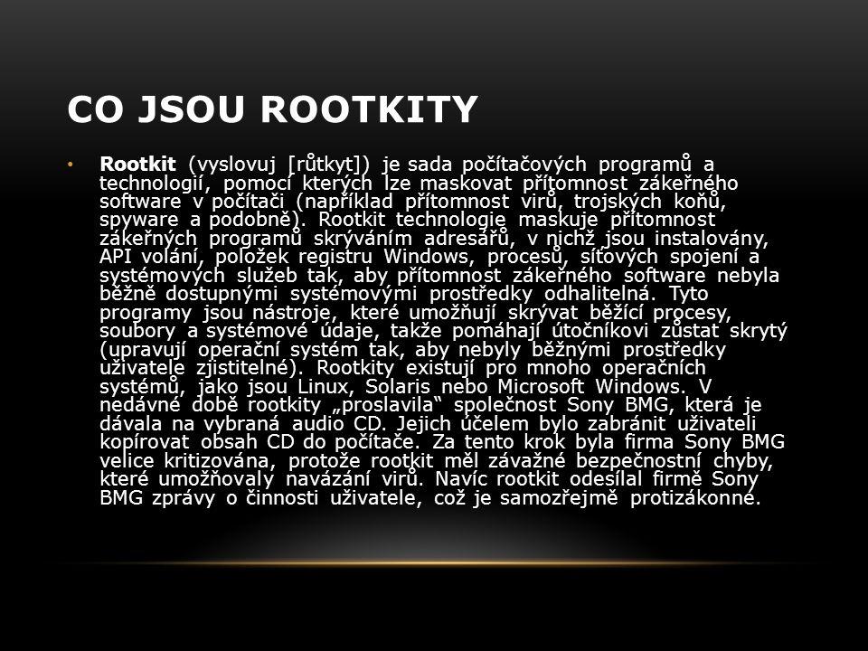 Co jsou rootkity