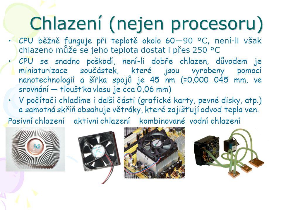 Chlazení (nejen procesoru)
