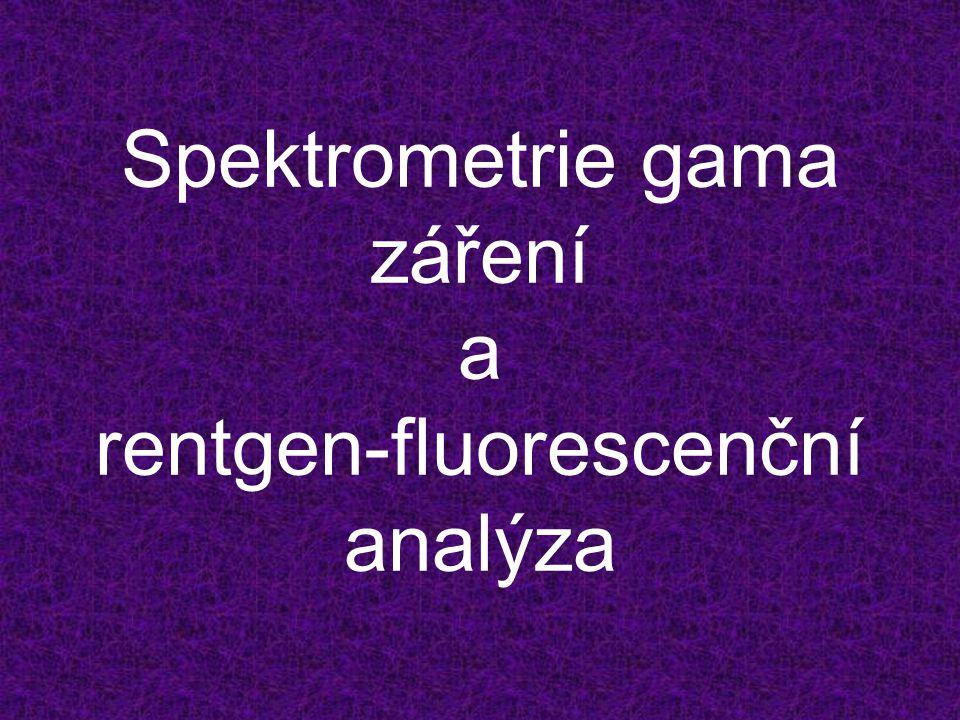 Spektrometrie gama záření a rentgen-fluorescenční analýza