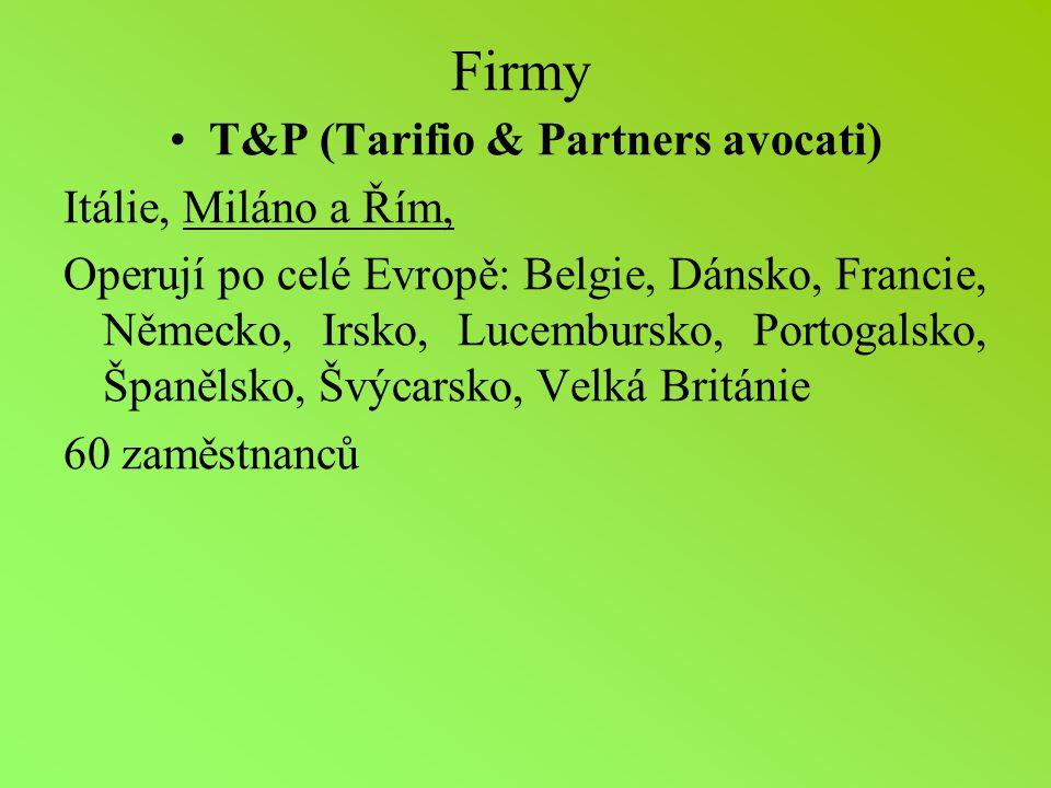 T&P (Tarifio & Partners avocati)