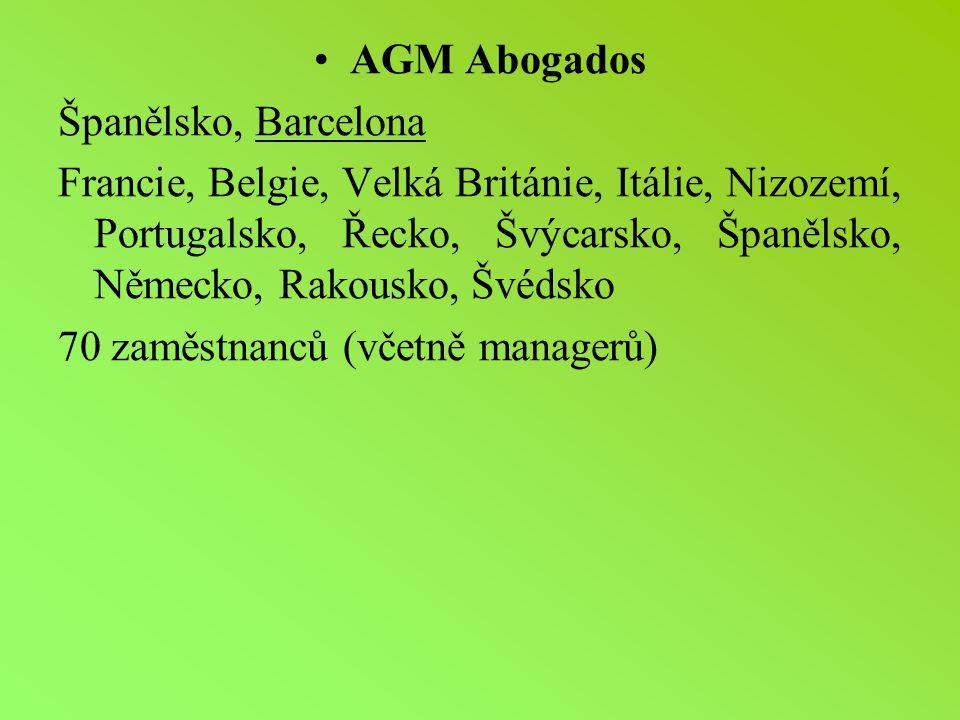 AGM Abogados Španělsko, Barcelona.