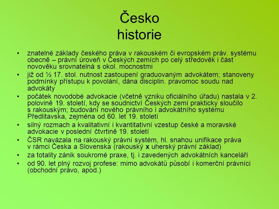 Česko historie