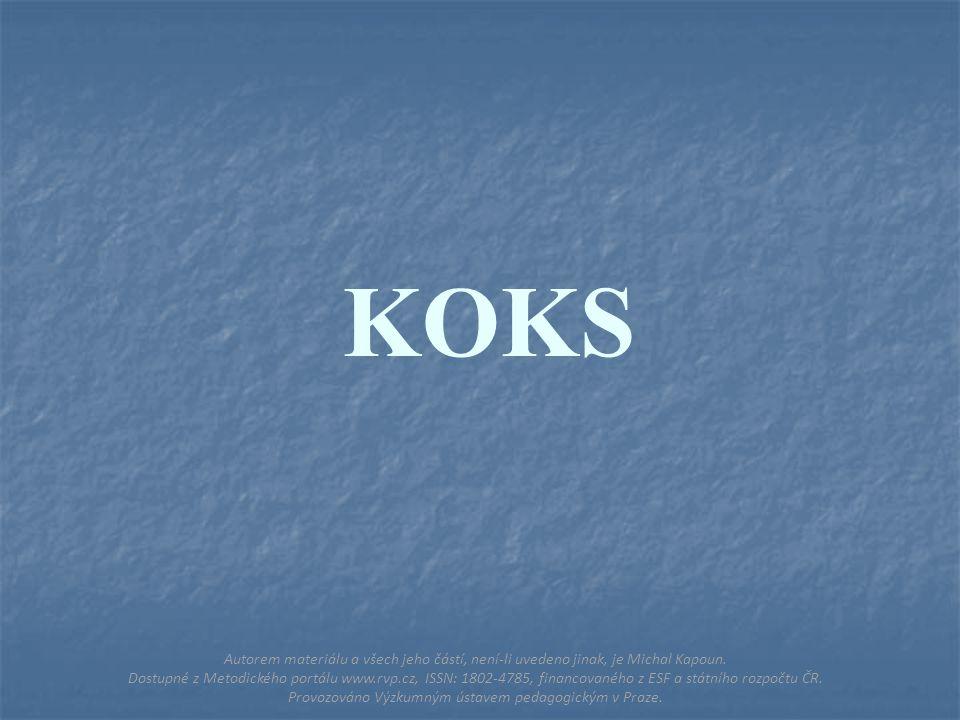 KOKS Autorem materiálu a všech jeho částí, není-li uvedeno jinak, je Michal Kapoun.