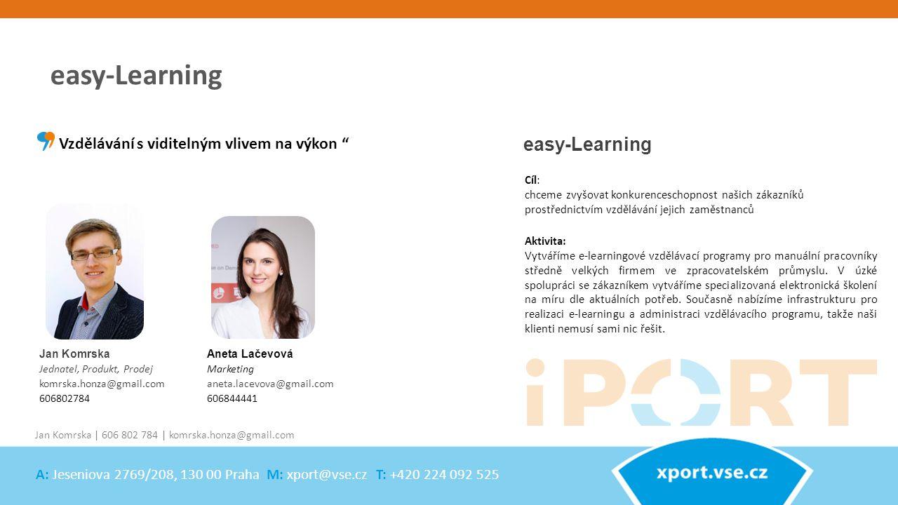 easy-Learning easy-Learning Vzdělávání s viditelným vlivem na výkon