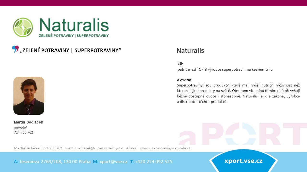 "Naturalis ""ZELENÉ POTRAVINY | SUPERPOTRAVINY"