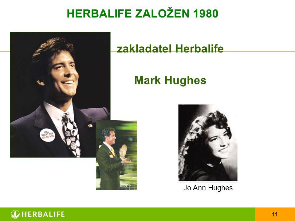 zakladatel Herbalife Mark Hughes