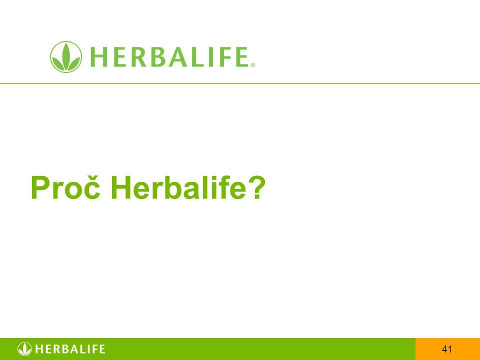 Proč Herbalife