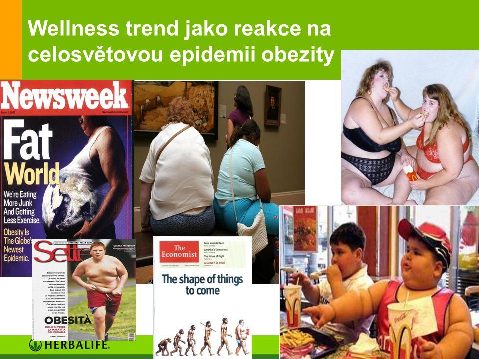 Wellness trend jako reakce na celosvětovou epidemii obezity