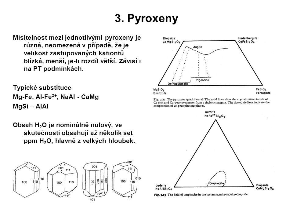 3. Pyroxeny