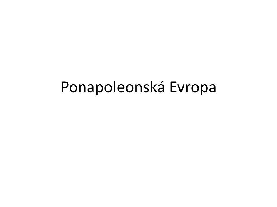 Ponapoleonská Evropa