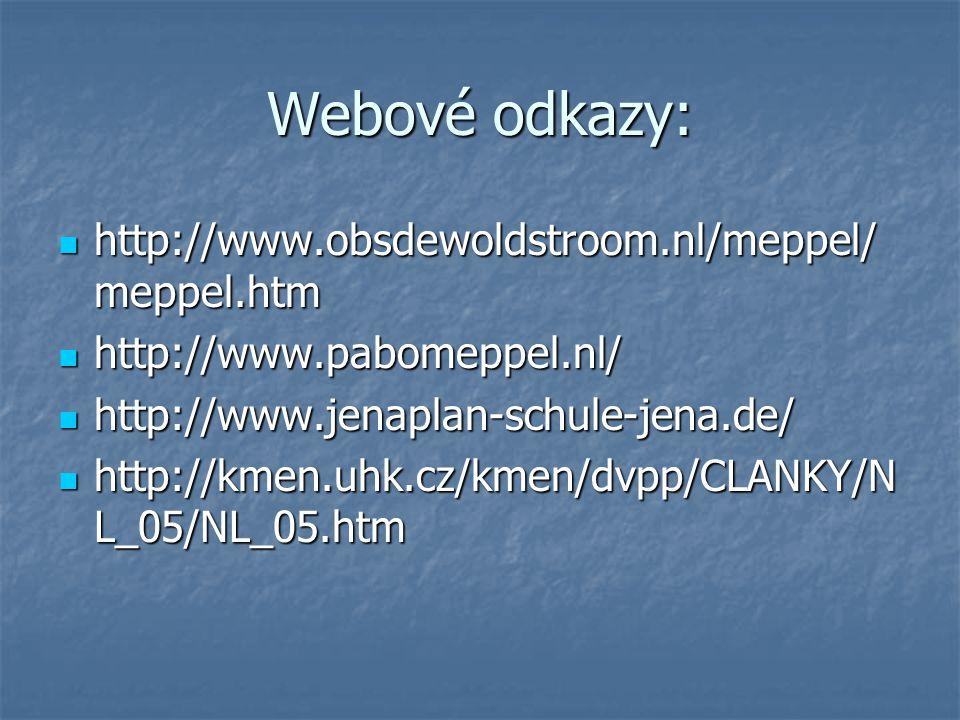 Webové odkazy: http://www.obsdewoldstroom.nl/meppel/meppel.htm