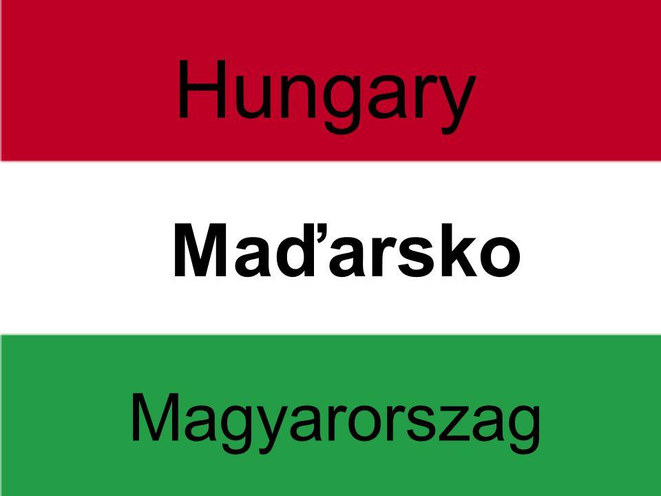 Hungary Maďarsko Magyarorszag