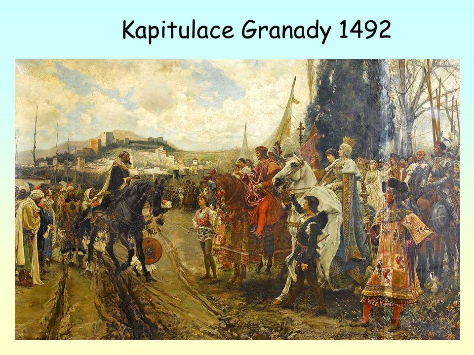 Kapitulace Granady 1492