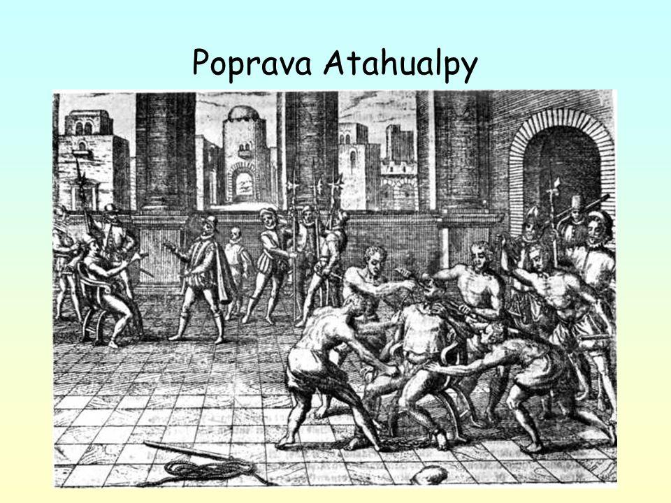 Poprava Atahualpy