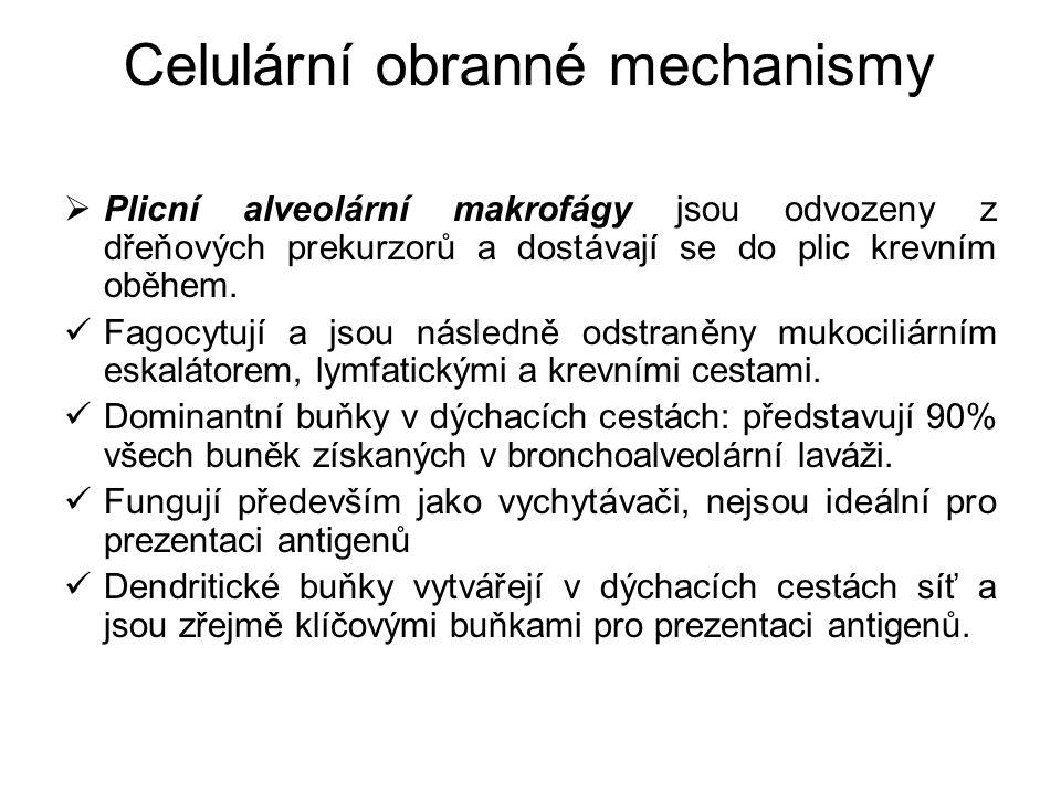 Celulární obranné mechanismy