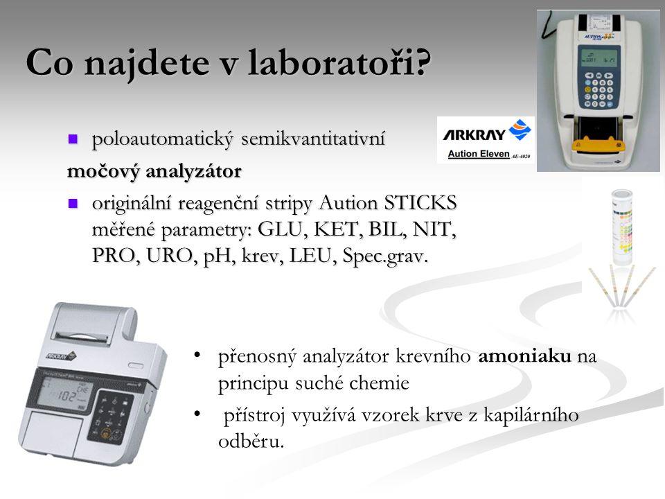 Co najdete v laboratoři