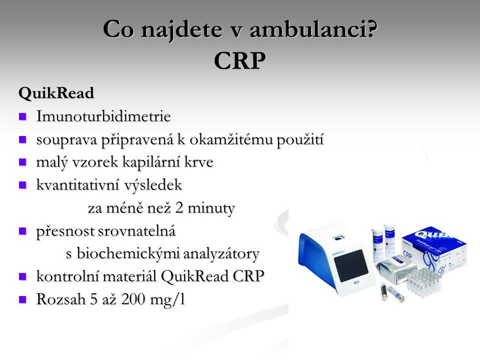 Co najdete v ambulanci CRP