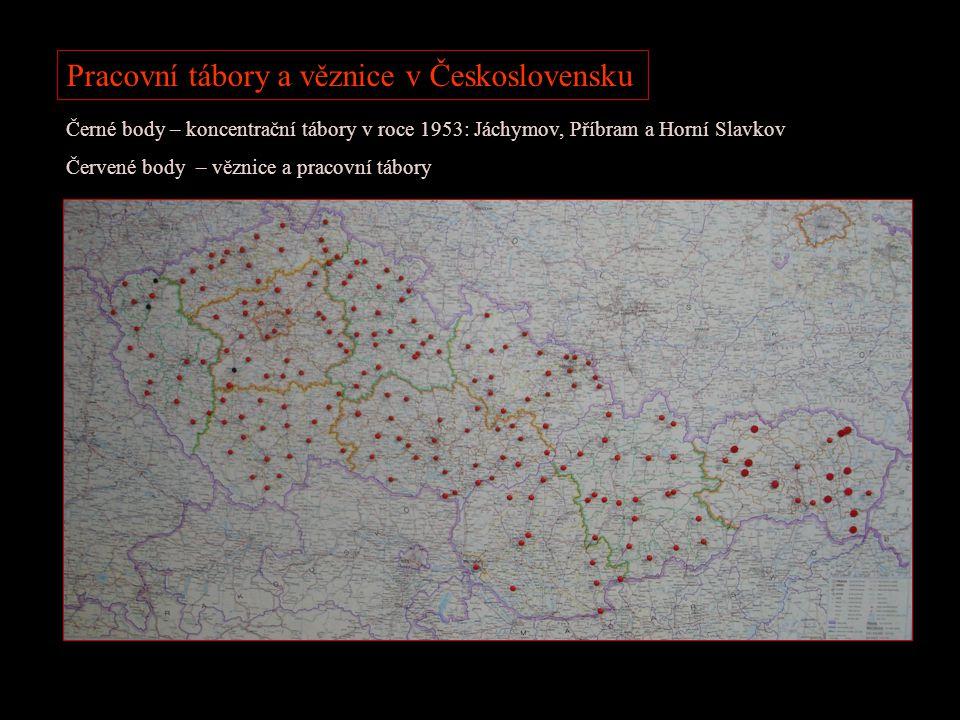 Pracovní tábory a věznice v Československu