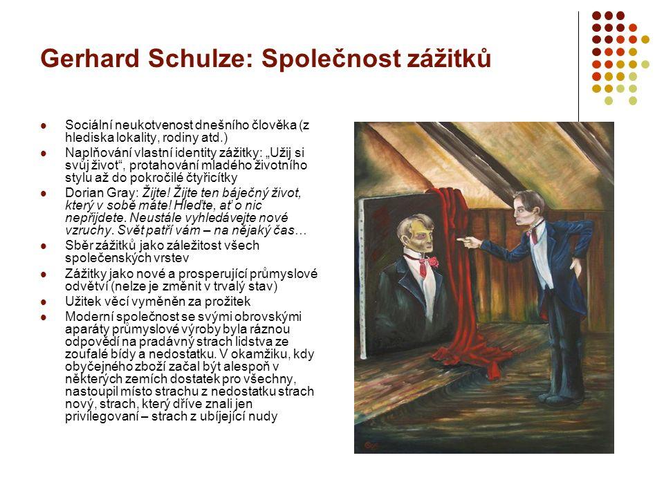 Gerhard Schulze: Společnost zážitků