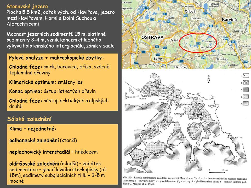 Sálské zalednění Stonavské jezero