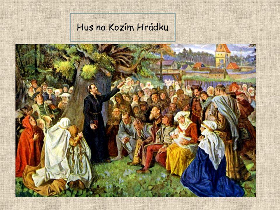 Hus na Kozím Hrádku