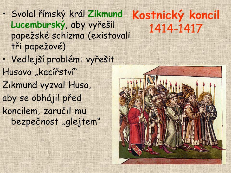 Svolal římský král Zikmund Lucemburský, aby vyřešil papežské schizma (existovali tři papežové)