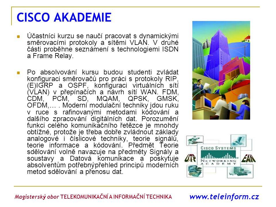 CISCO AKADEMIE www.teleinform.cz