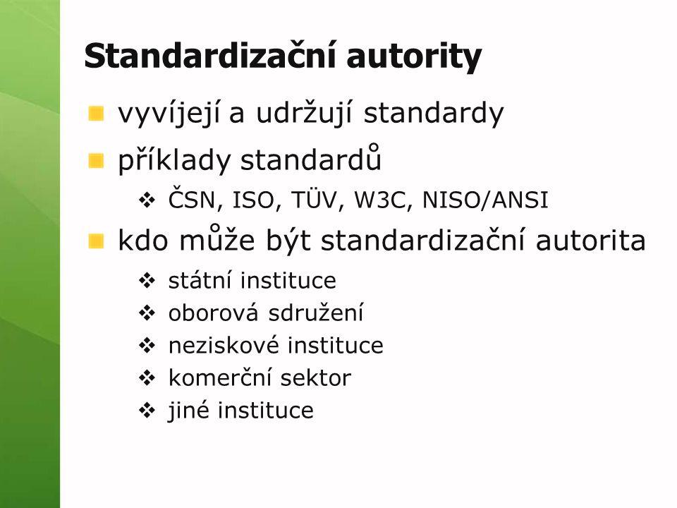 Standardizační autority