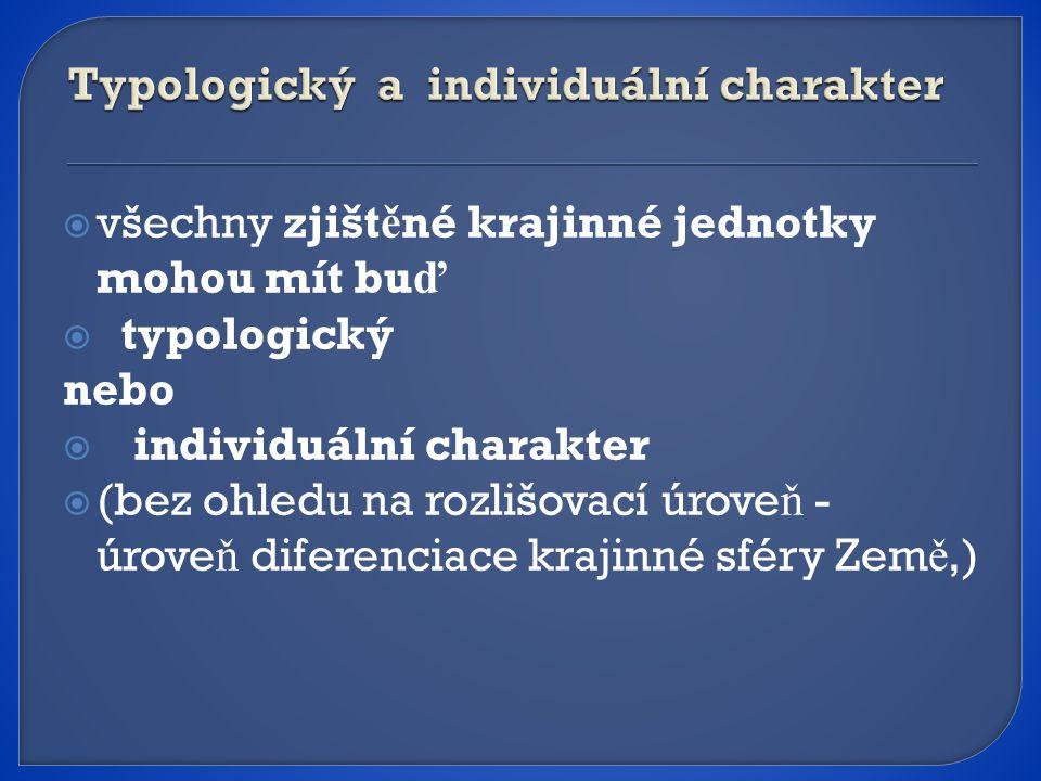 Typologický a individuální charakter