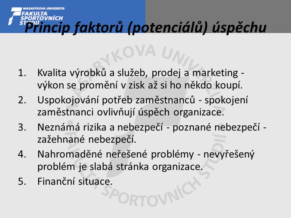 Princip faktorů (potenciálů) úspěchu