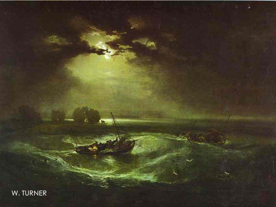 Rybáři na rozbouřeném moři