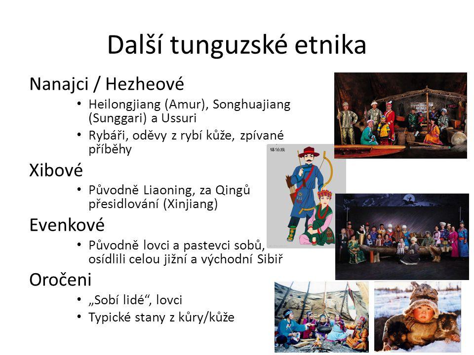 Další tunguzské etnika