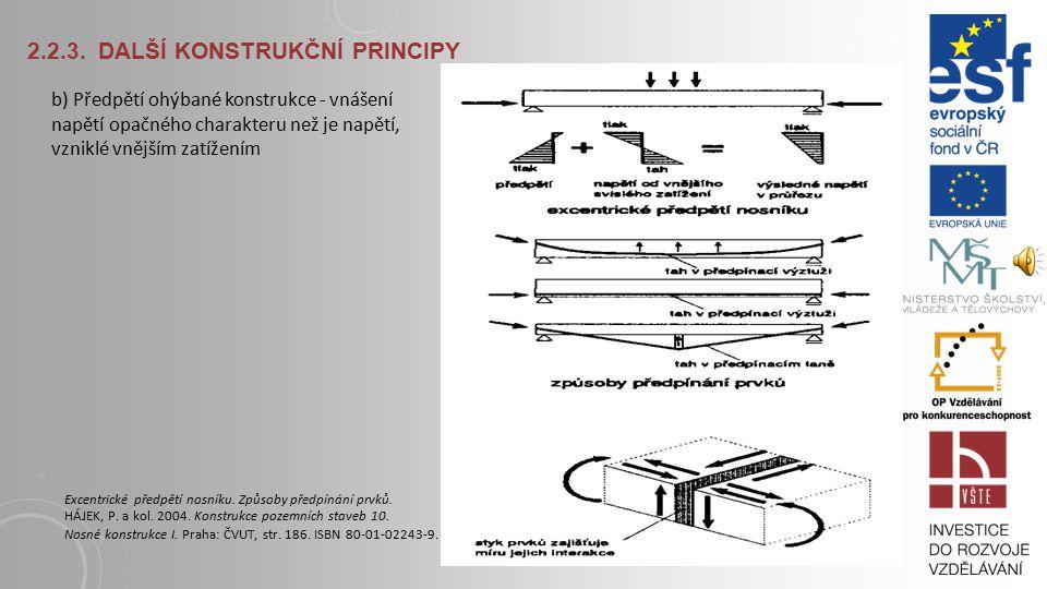 2.2.3. Další konstrukční principy