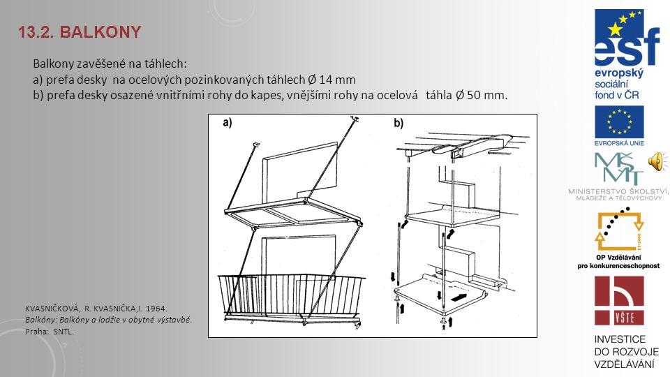 13.2. Balkony