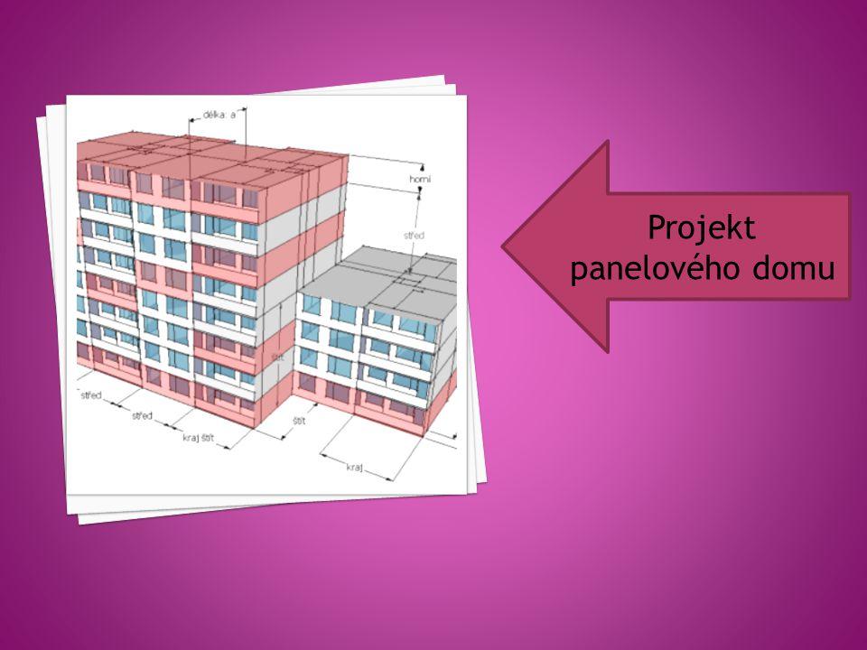 Projekt panelového domu