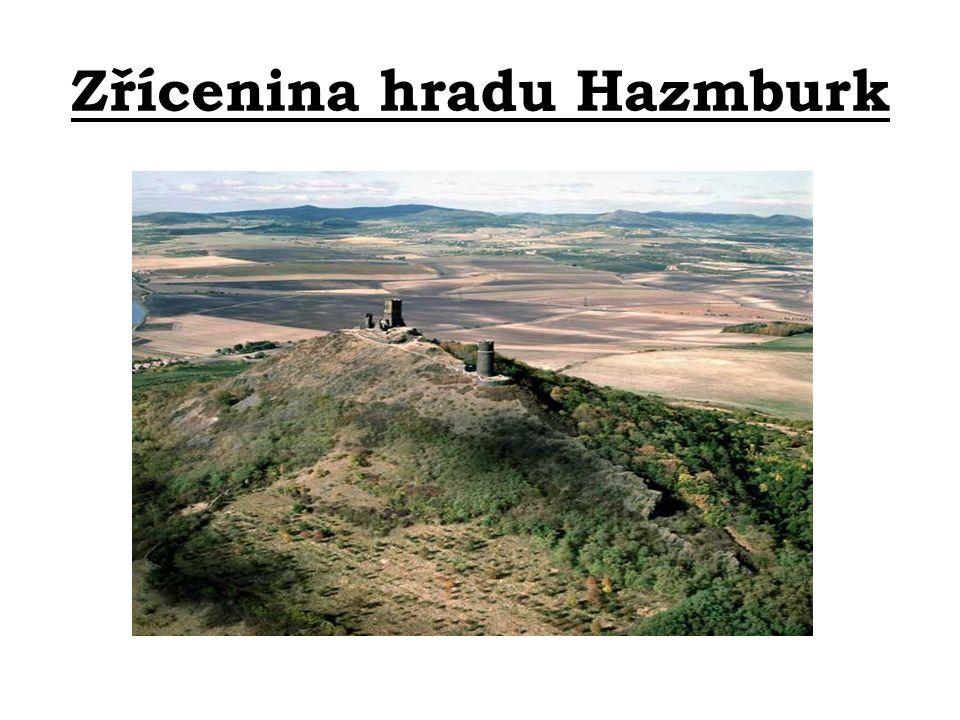 Zřícenina hradu Hazmburk